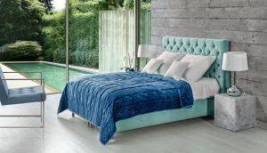 Boxspring krevet Alcina s uzglavljem Chesterfield